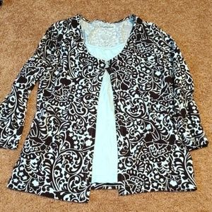 Croft and Barrow blouse med